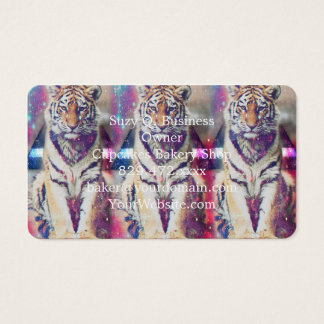 Tarjeta De Visita Tigre del inconformista - arte del tigre - tigre