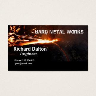 Tarjeta De Visita Trabajos del metal