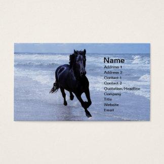 Tarjeta De Visita Un caballo salvaje y libre