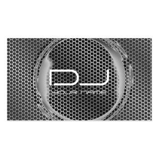 Tarjeta de visita única de DJ