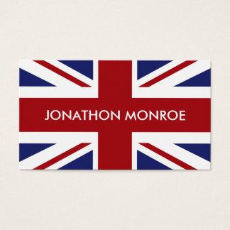 Tarjeta De Visita Union Jack, bandera británica, Reino Unido