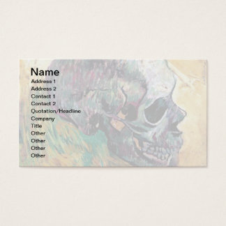 Tarjeta De Visita Vincent van Gogh - cráneo en perfil - bella arte