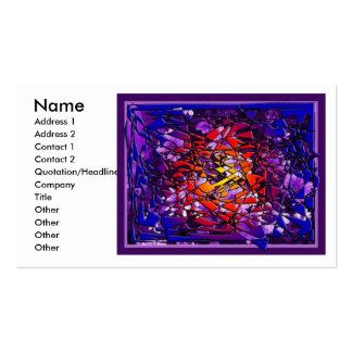tarjeta de visita - violeta kaleidoscope1