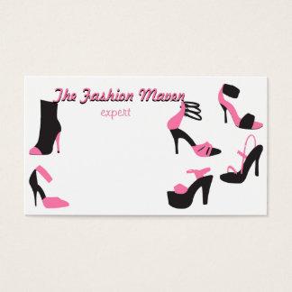 Tarjeta De Visita ¡Zapatos de los zapatos de los zapatos!