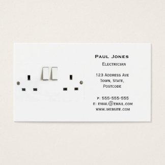 Tarjeta De Visita Zócalo eléctrico del Reino Unido