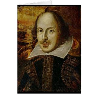 Tarjeta de William Shakespeare