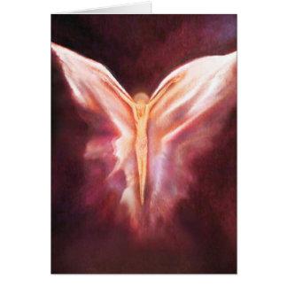 Tarjeta Debajo de sus alas
