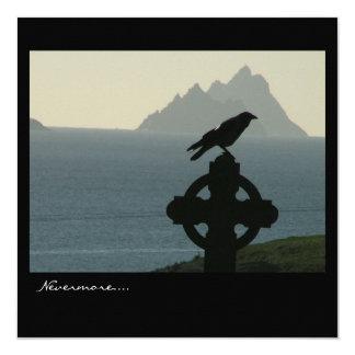 Tarjeta Declaración del cuervo
