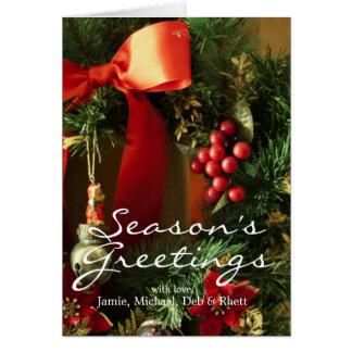 Tarjeta Decoración del navidad