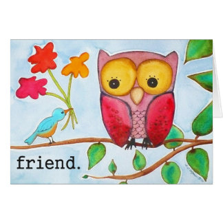 Tarjeta del amigo