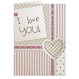 Tarjeta del amor
