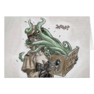 Tarjeta del amor de Steampunk