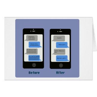 tarjeta del aniversario del iPhone