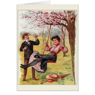Tarjeta del aniversario del Victorian