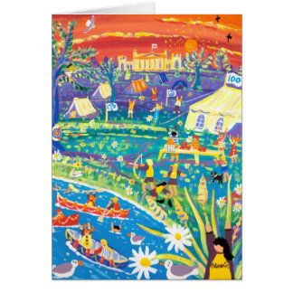 Tarjeta del arte: ¡Brownie 100 años de diversión!