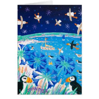 Tarjeta del arte: Frailecillos de Scilly