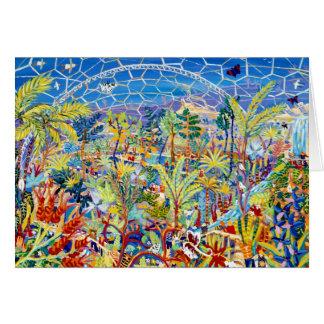 Tarjeta del arte: Jardín de Eden. El proyecto de