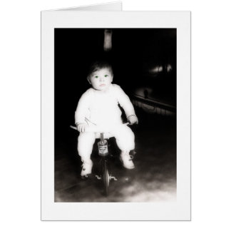 Tarjeta del bebé del vintage