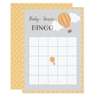 Tarjeta del bingo de la fiesta de bienvenida al
