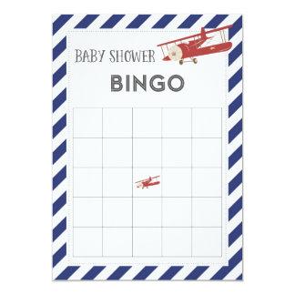 Tarjeta del bingo de la fiesta de bienvenida al invitación 12,7 x 17,8 cm