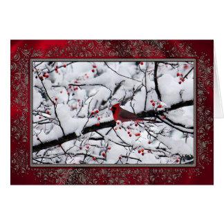 Tarjeta del cardenal 6154 TY