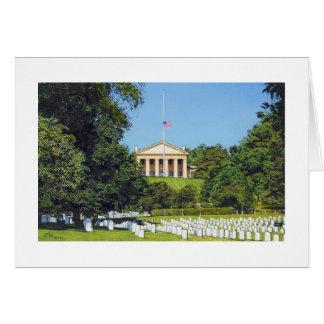 Tarjeta del cementerio nacional de Paul McGehee