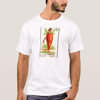 tarjeta del comercio del Victorian del hombre de Camiseta