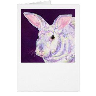 """Tarjeta del conejo de conejito - """"Sr. Personality"""