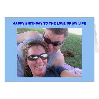 Tarjeta del cumpleaños de Joe