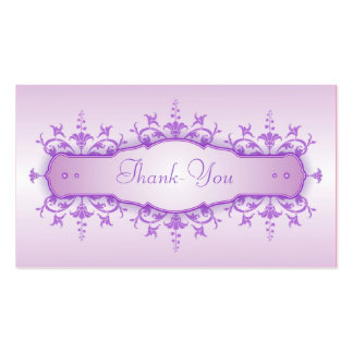 Tarjeta del de agradecimiento del boda tarjetas de visita