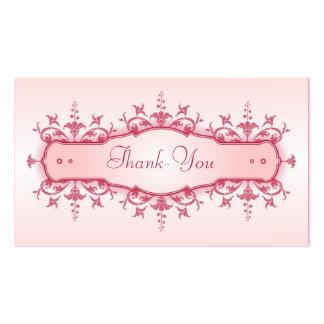 Tarjeta del de agradecimiento del boda plantilla de tarjeta de negocio