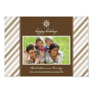 Tarjeta del día de fiesta de la familia de la invitación 12,7 x 17,8 cm