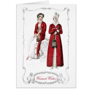 Tarjeta del día de fiesta del navidad de la placa