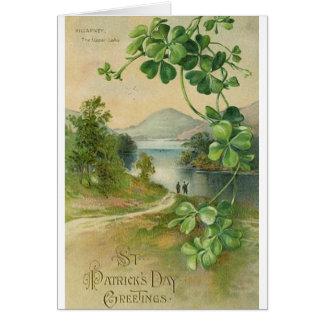 Tarjeta del día de Killarney St Patrick del