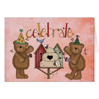 tarjeta del día de la adopción