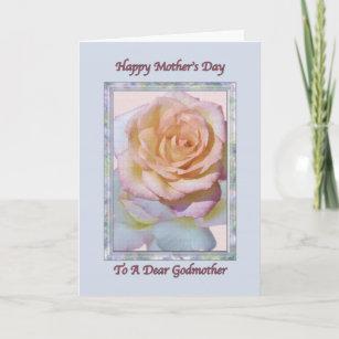 08d34c45a7 Tarjetas El Día De Madre Floral Para Las Madrinas