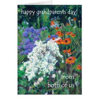 Tarjeta del día de los abuelos - nosotros dos -