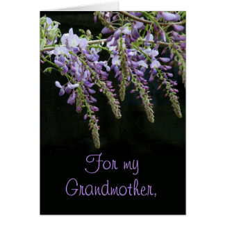 Tarjeta del día de madre de la abuela de las