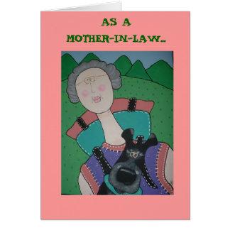 Tarjeta del día de madre de la SUEGRA
