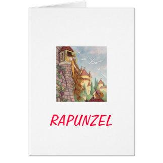 Tarjeta del día de madre de Rapunzel
