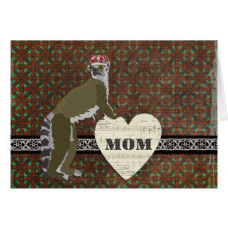 Tarjeta del día de madre de rey Julian Chocolate H