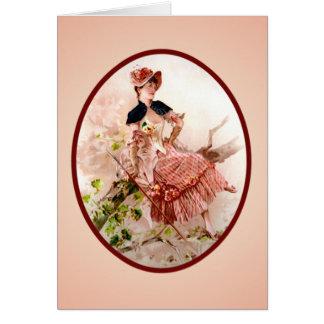 Tarjeta del día de madre del Victorian del vintage