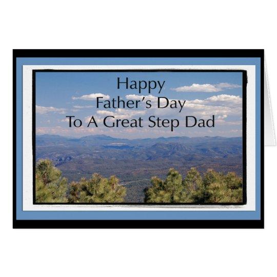 Tarjeta del día de padre para el papá del paso