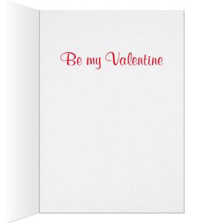 Tarjeta del día de San Valentín 1