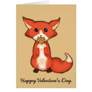 Tarjeta del día de San Valentín astuta y dulce