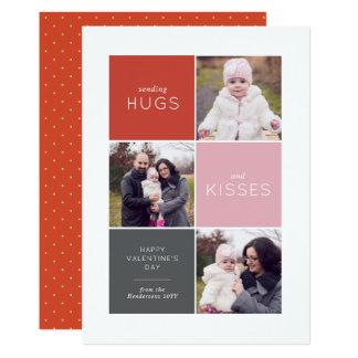Tarjeta del día de San Valentín de la foto de la Invitación 12,7 X 17,8 Cm