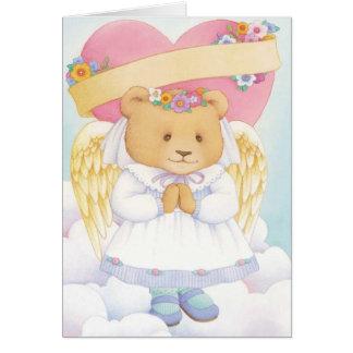 Tarjeta del día de San Valentín de la nieta -