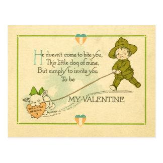 Tarjeta del día de San Valentín de la Primera