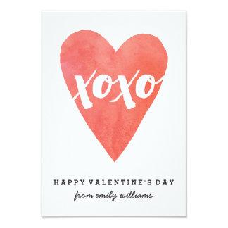 Tarjeta del día de San Valentín de la sala de Invitación 8,9 X 12,7 Cm
