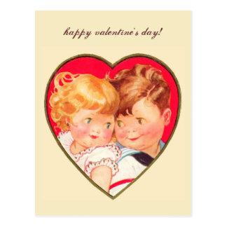 Tarjeta postal sexy valentine